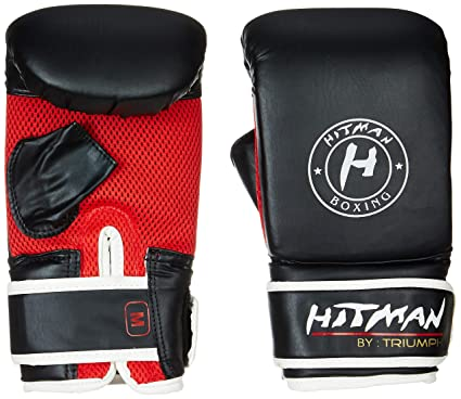 Buy Hitman By Triumph Boxing Gloves Force Black Online At Low Prices In India Amazon In