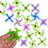 Mini Finger Gyro Fidget Spiral Twister Toys Party Pack (20 Pieces) by Lugumy
