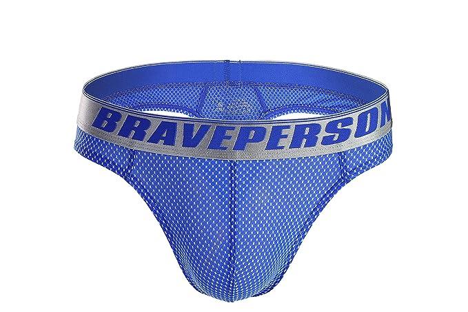 27172f3811 BRAVE PERSON Men s Sexy G-String Jacquard Thong Underwear Swimwear B1153  (S