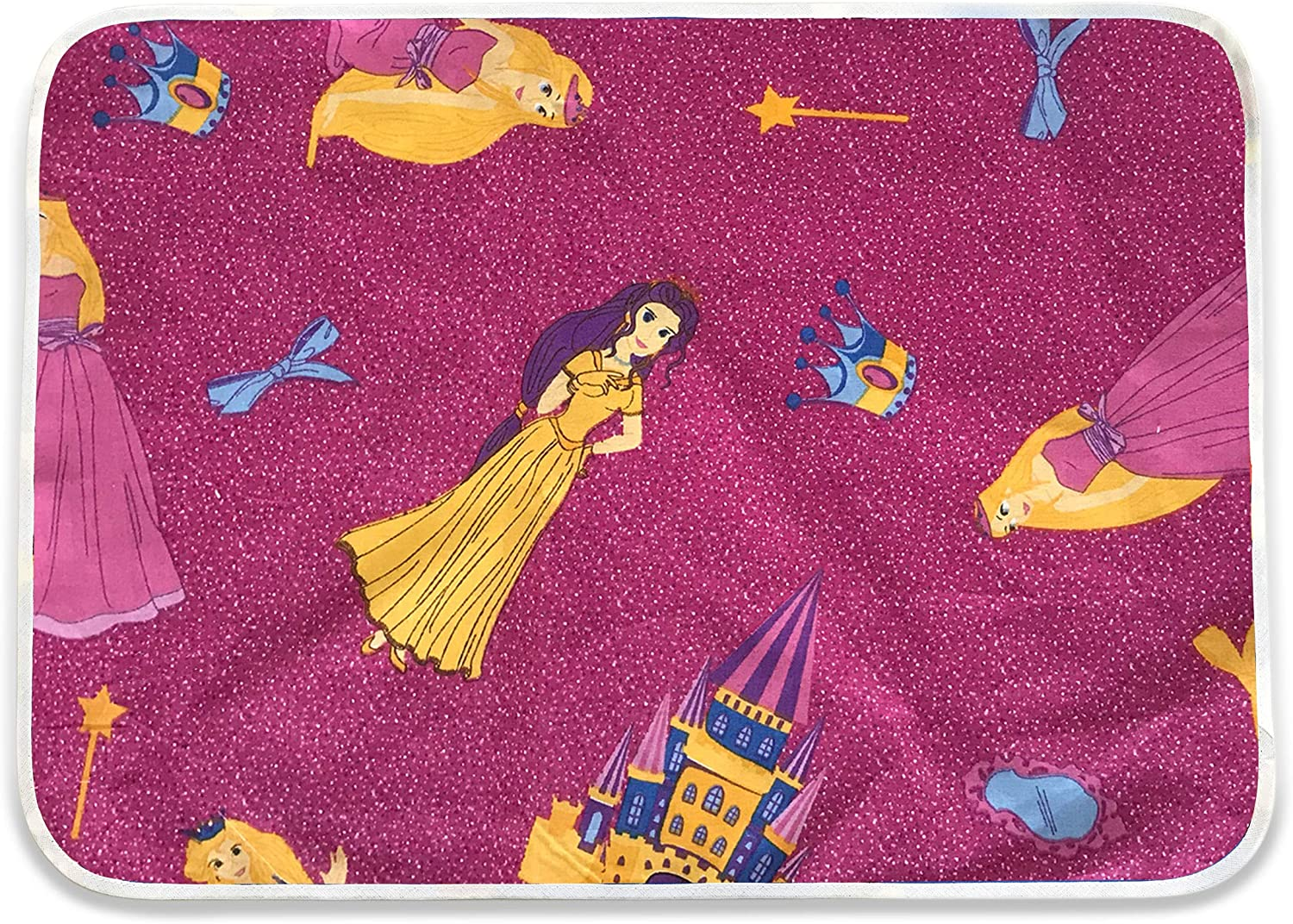 motifs Disney pour maternelle et jardin denfants Serviette de table 100/% coton oeko tex Made in Italy Tapis de table Set de table