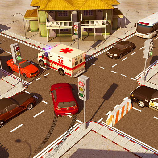 City Traffic Control Simulator 2018: Traffic Lanes Rush Intersection Controller Games For Free