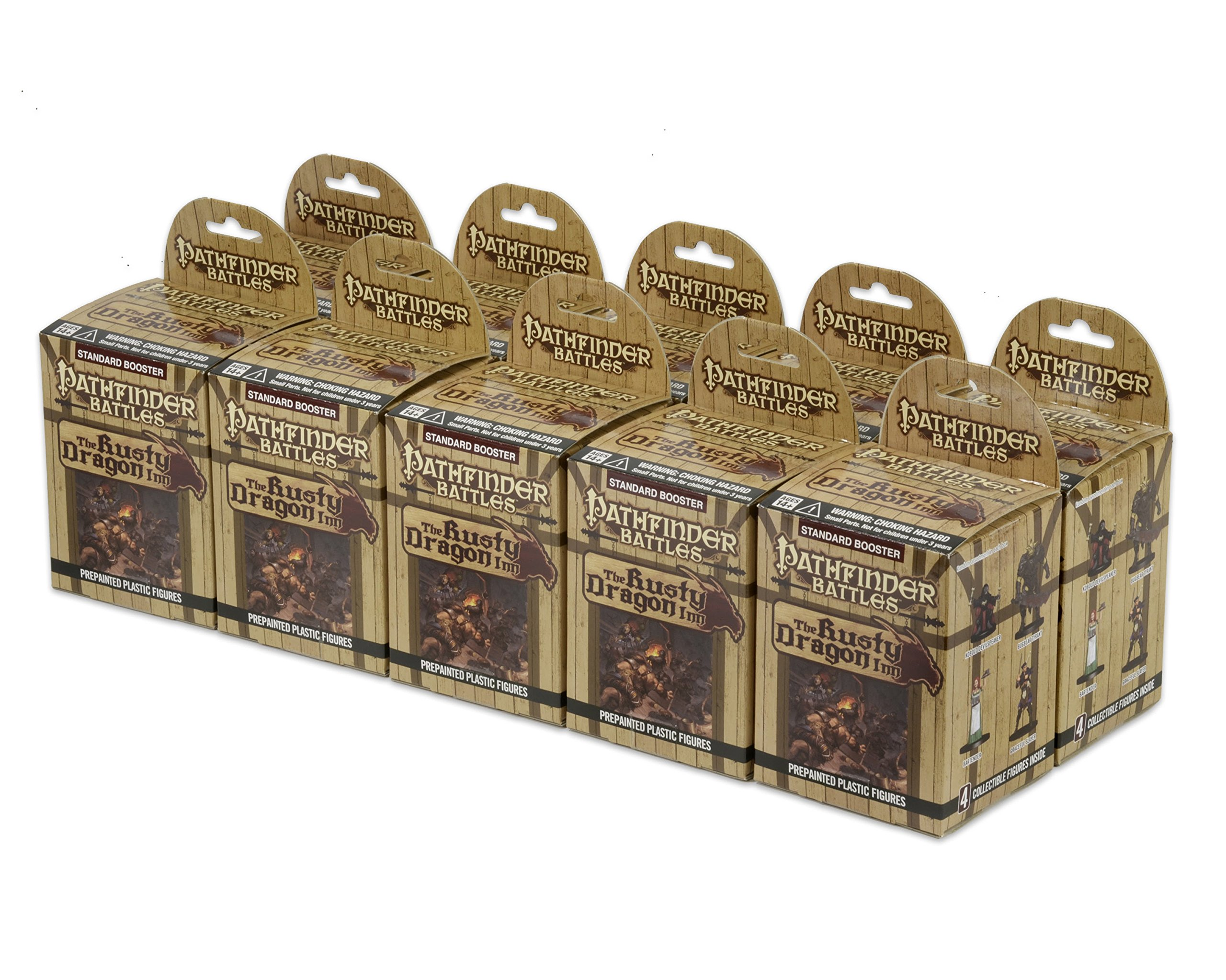 Pathfinder: The Rusty Dragon Inn 8 count Brick by Pathfinder Adventure by Pathfinder Adventure