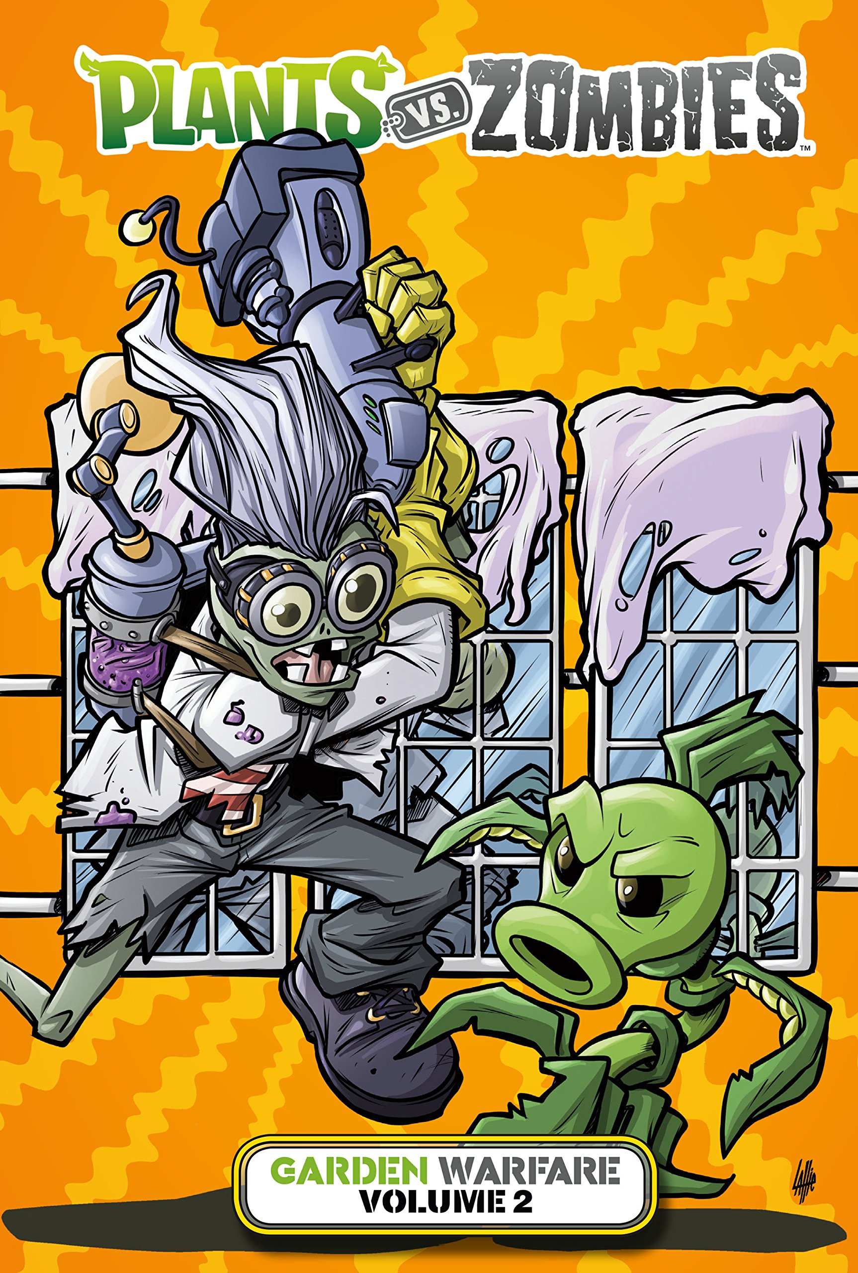 Amazon.com: Plants Vs. Zombies: Garden Warfare Volume 2 (9781506705484):  Paul Tobin, Tim Lattie: Books