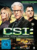 CSI: Crime Scene Investigation - Season 13.1 [3 DVDs]