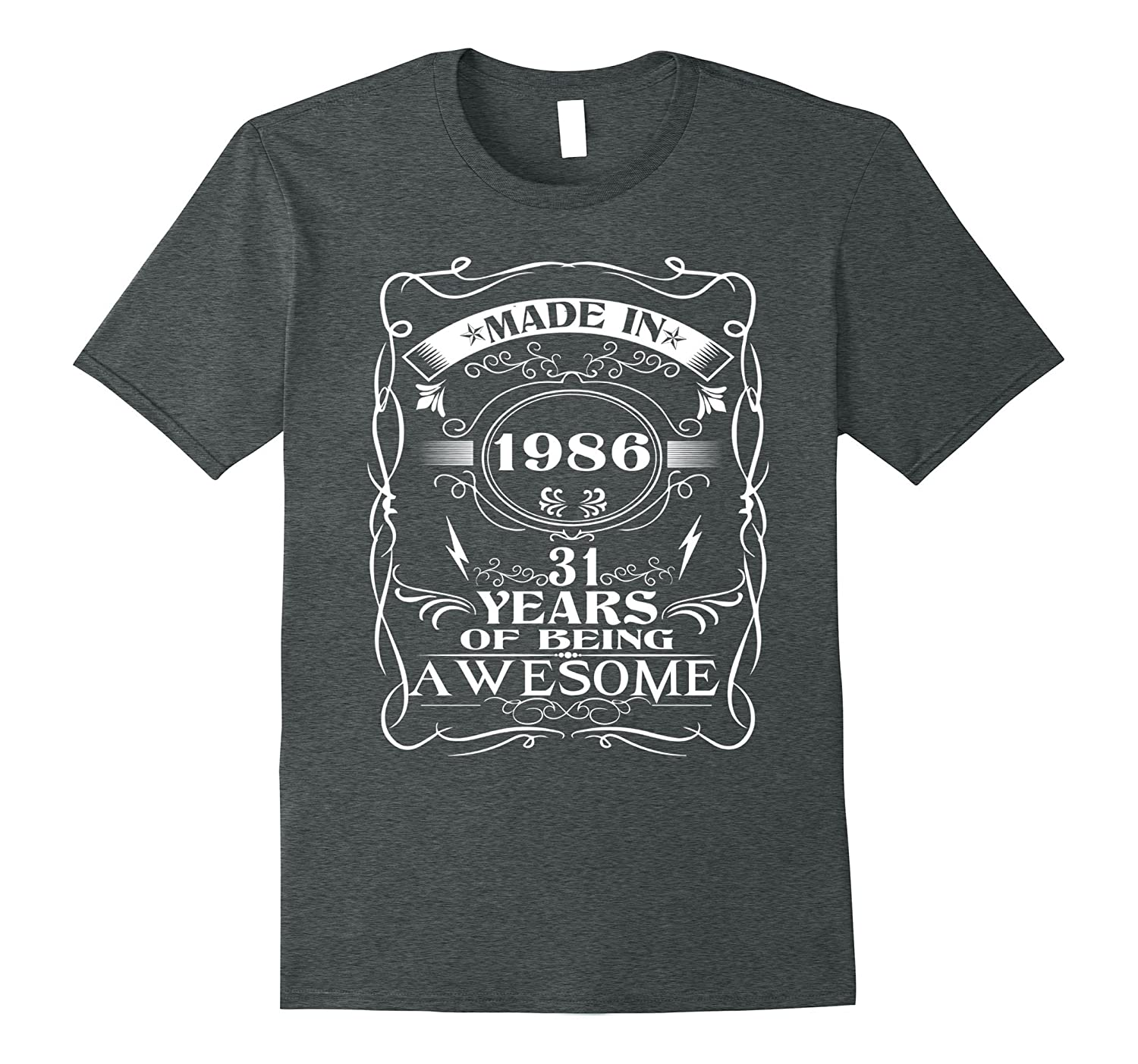 31th birthday Born in 1986 31 years of being awesome-Vaci