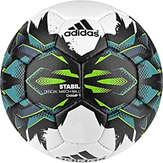 adidas Stabil Champ9 - Ballon de Handball, Couleur Blanc, Taille 3