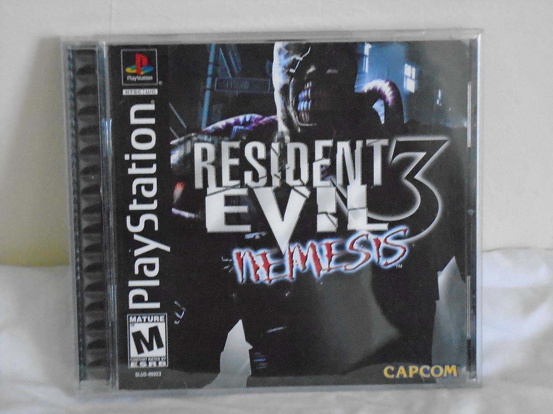 Amazon Com Resident Evil 3 Nemesis Video Games