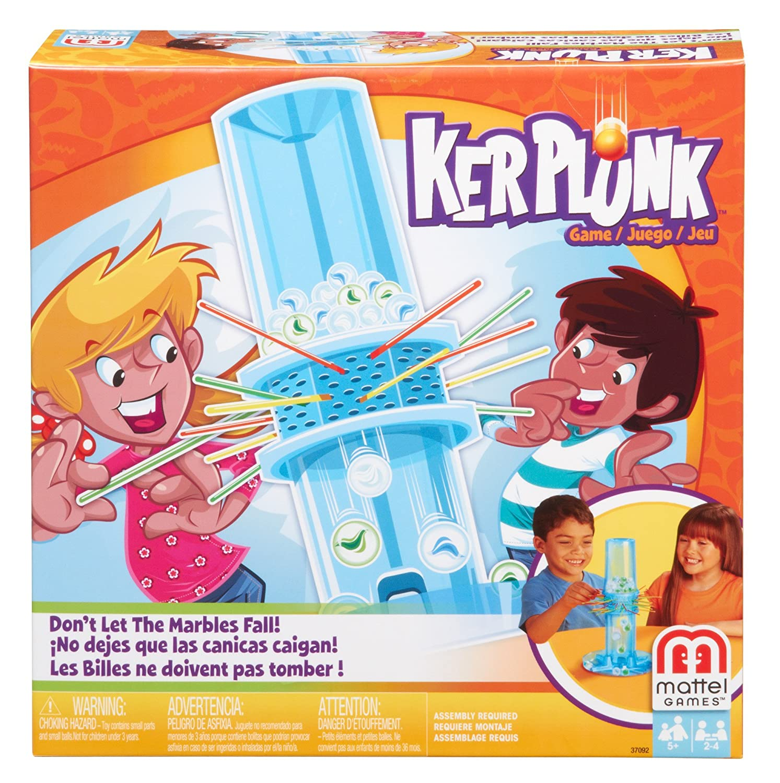 Amazon.com: Mattel Games Ker Plunk Game: Toys & Games