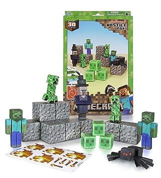 Papierset zum Selberbasteln Minecraft 16703 30 Teile Feindliche Mobs