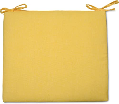 Overstock Outdoor Seat Cushion Yellow