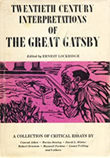 com new essays on the great gatsby the american novel twentieth century interpretations of the great gatsby a collection of critical essays