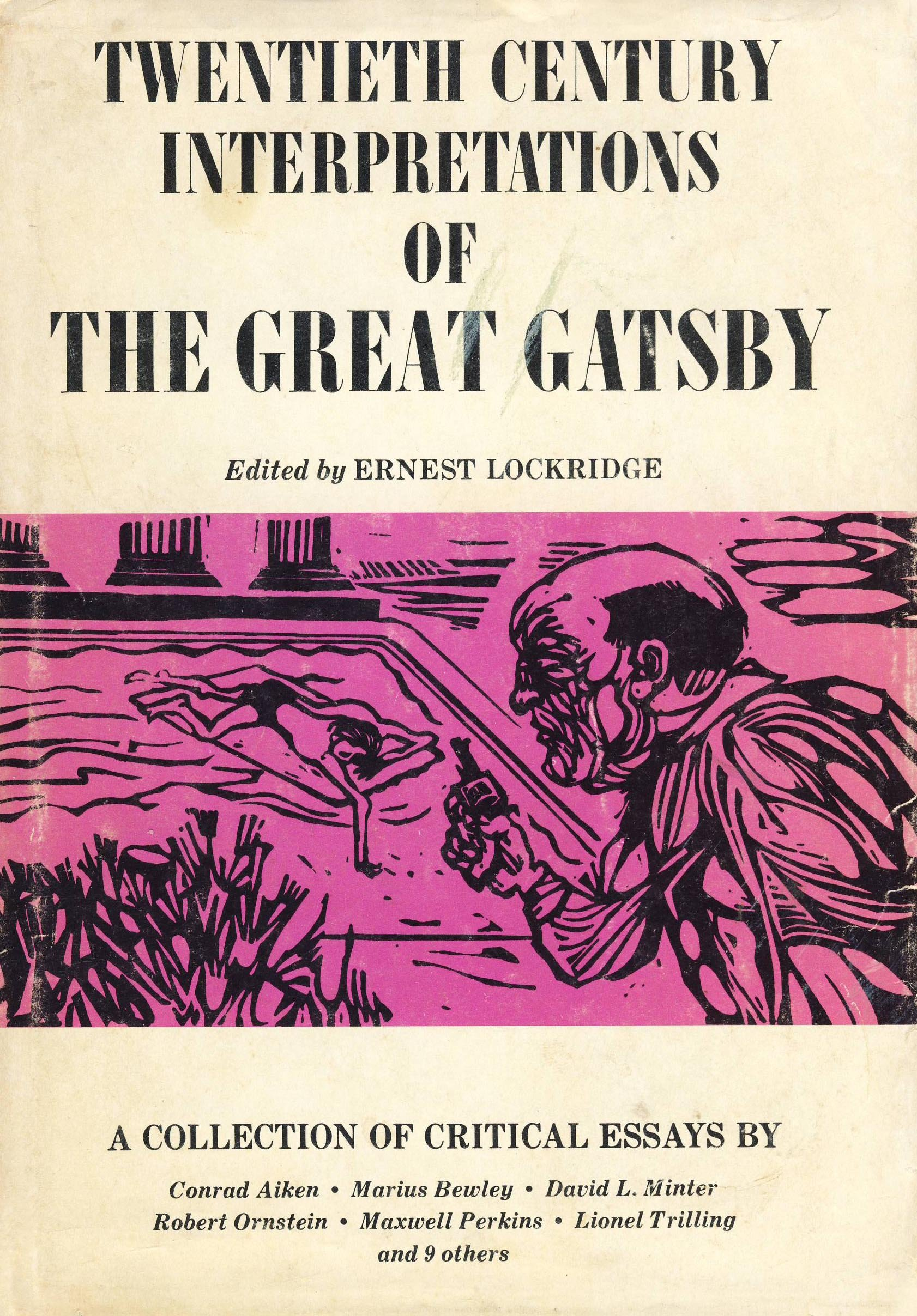 com twentieth century interpretations of the great gatsby com twentieth century interpretations of the great gatsby a collection of critical essays 9780133638202 ernest lockridge books