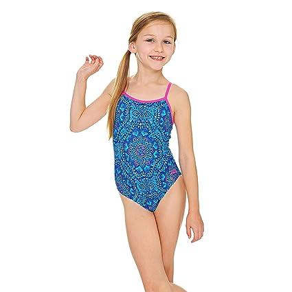 f4a10afd0 Zoggs Yaroomba - Bañador para niña  Amazon.es  Deportes y aire libre
