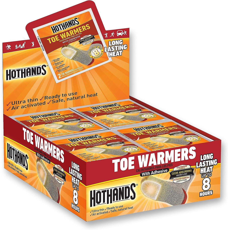 HeatMax Toasti Toes Foot Warmer (40 Pairs) (TT240-U)