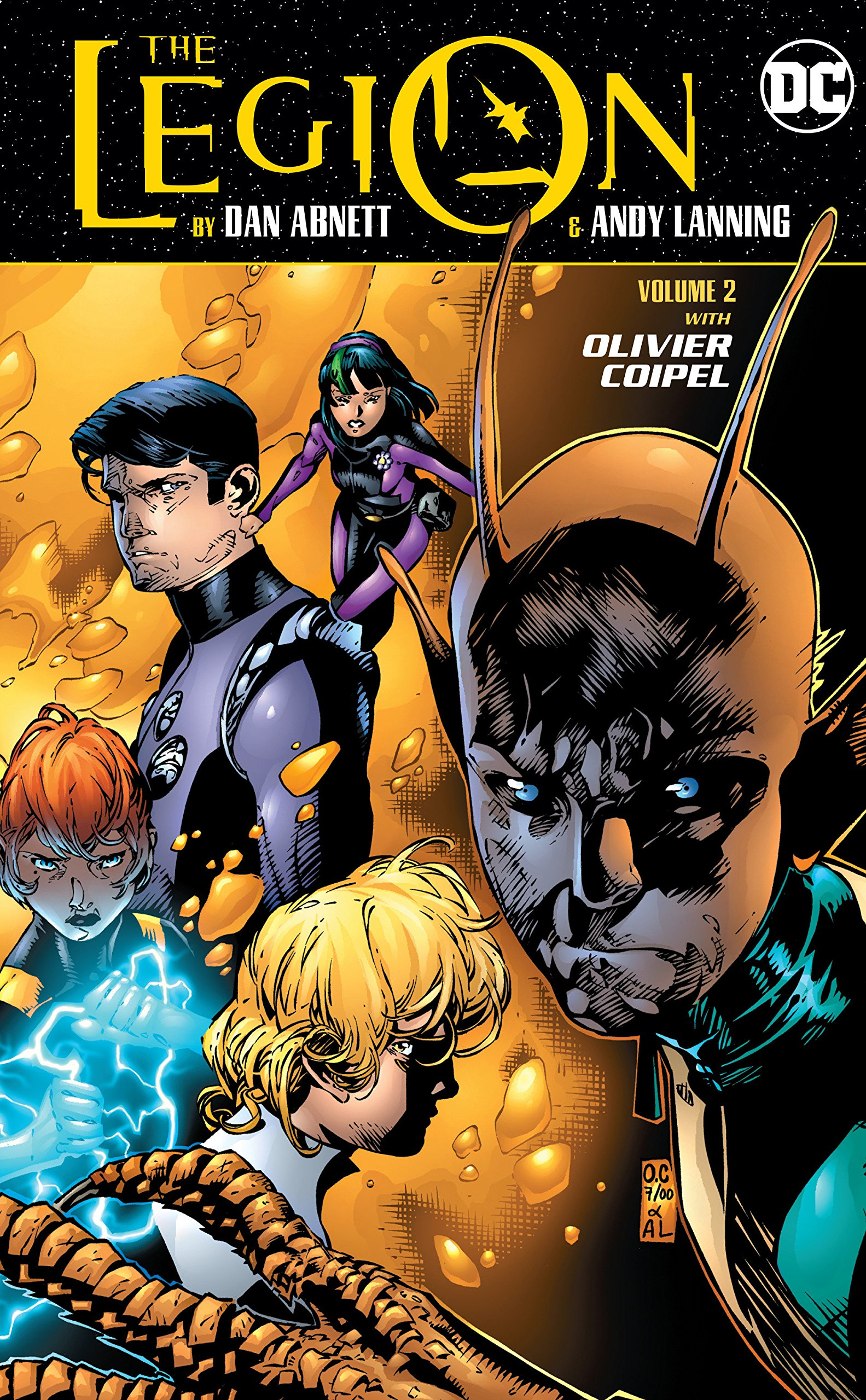 Read Online The Legion by Dan Abnett and Andy Lanning Vol. 2 (The Legion by Dan Abnett & Andy Lanning) PDF