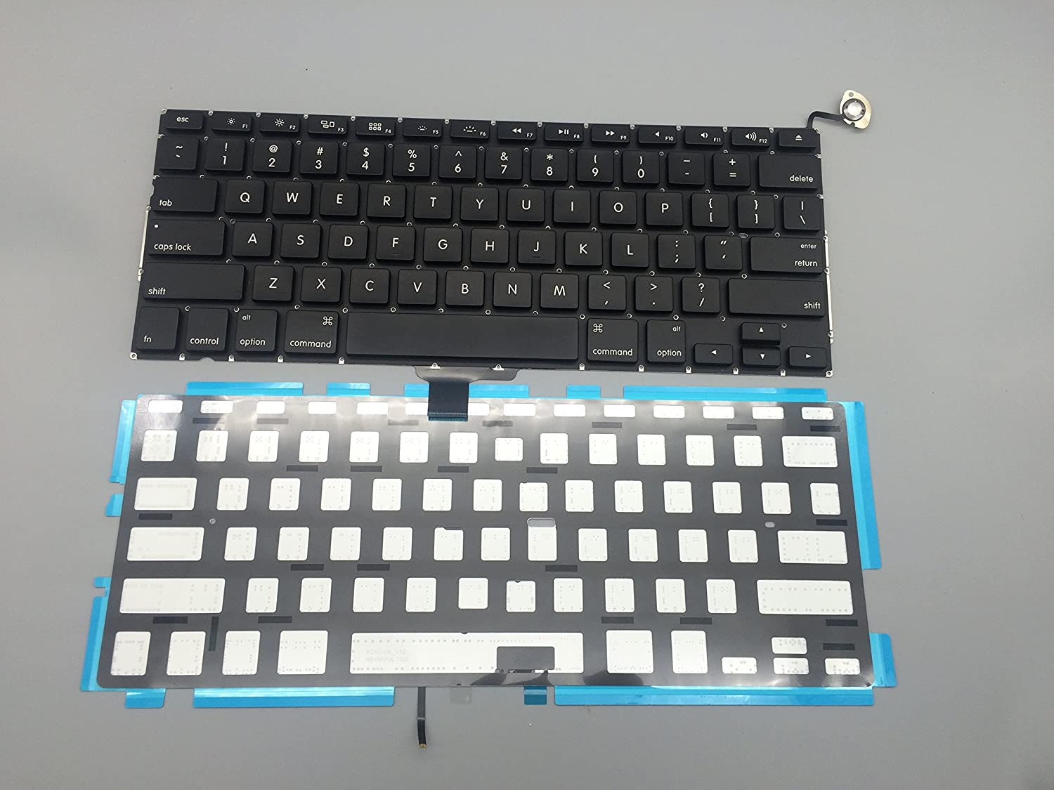 "New For MacBook Pro 13"" A1278 MB990 MB991 MB990LL/A MD313LL/A MD314 MB466 MB467 MD101 MD102 2009 2010 2011 2012 US Keyboard & Backlight Backlit"