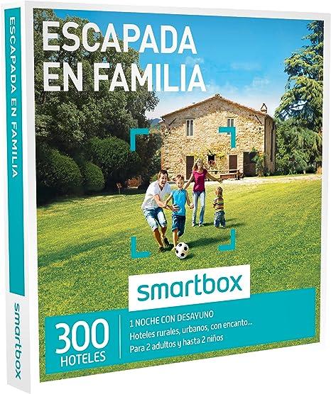 SMARTBOX - Caja Regalo - ESCAPADA EN FAMILIA - 300 hoteles urbanos, casas rurales, haciendas o posadas en España y Portugal: Amazon.es: Deportes y aire libre