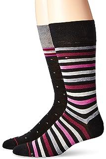 4c30e636ea46 Tommy Hilfiger Holiday Fair Isle Socks 4-Pack, Variety Pack at ...