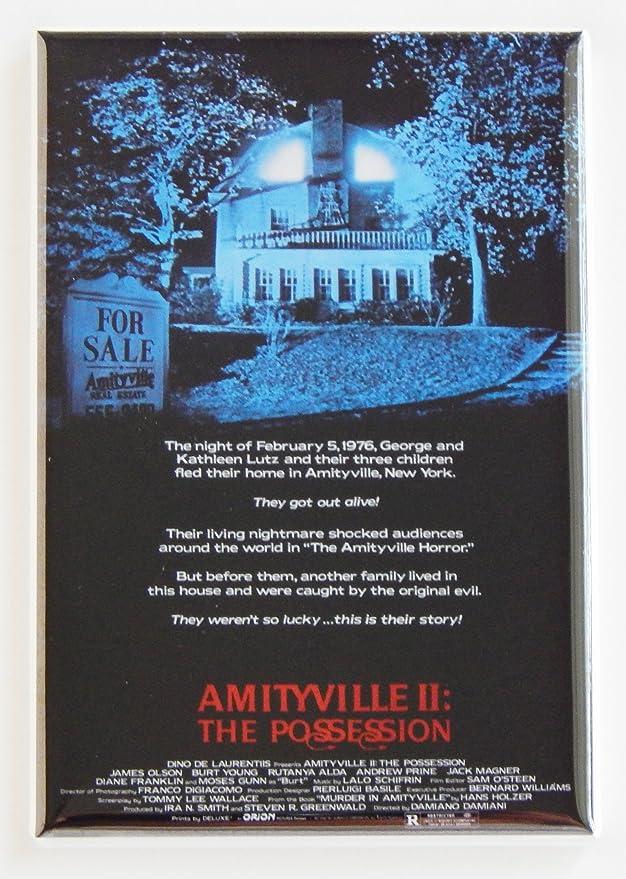 Con fotografía y negativo de Amityville 2: imán para nevera la ...