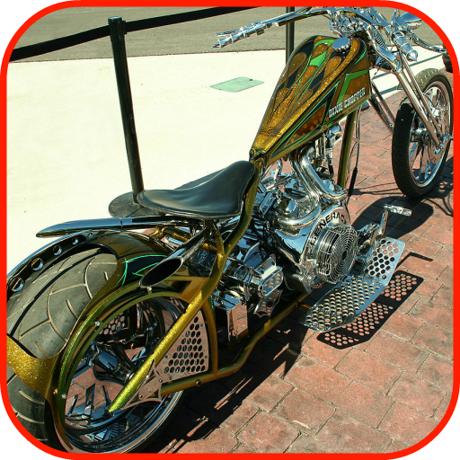 Motorcycle Chopper Wallpaper - Biker Chopper Custom