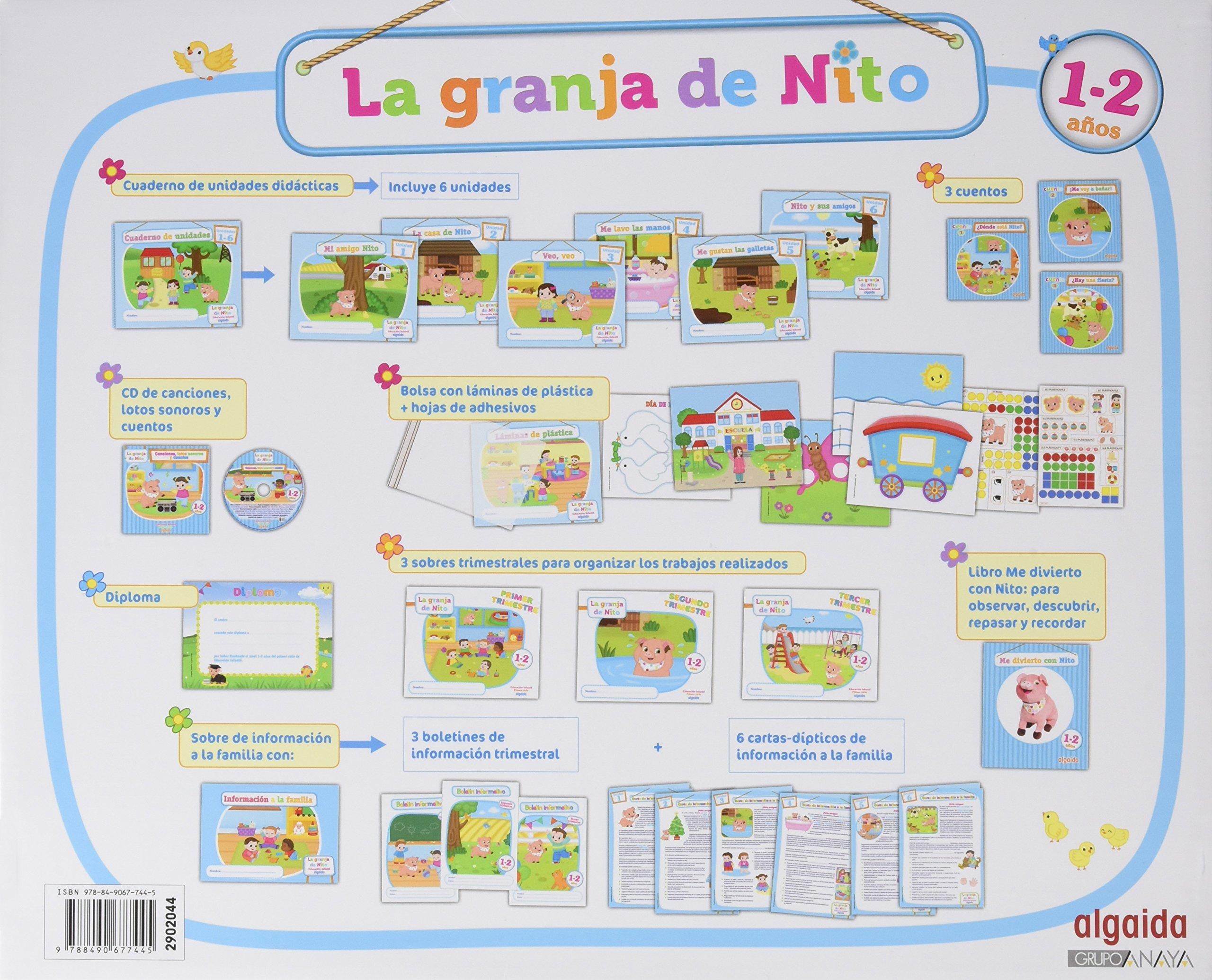 La granja de Nito 1-2, 1 año educación infantil, libro del ...