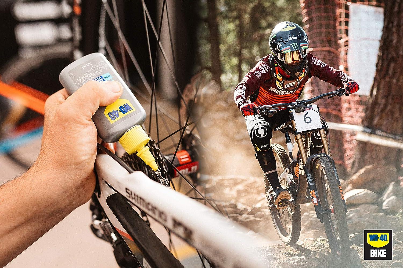 Aceite cadena wet wd-40 bike botella 100ml: Amazon.es: Industria ...