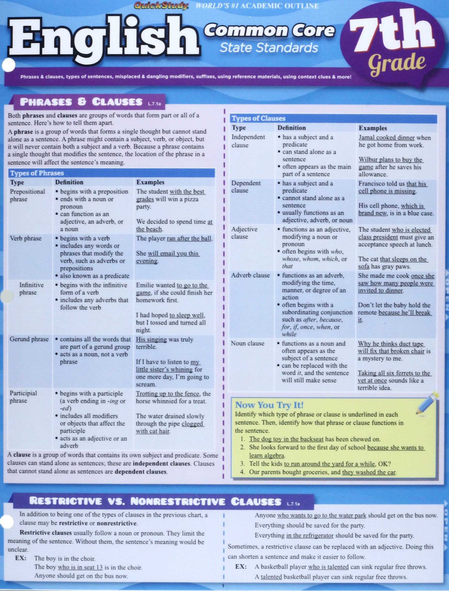 Read Online English Common Core 7Th Grade pdf epub