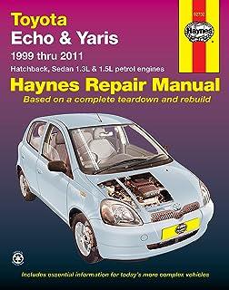 Toyota yaris petrol service and repair manual 1999 to 2005 r m toyota echoyaris automotive repair manual 1999 2011 fandeluxe Image collections