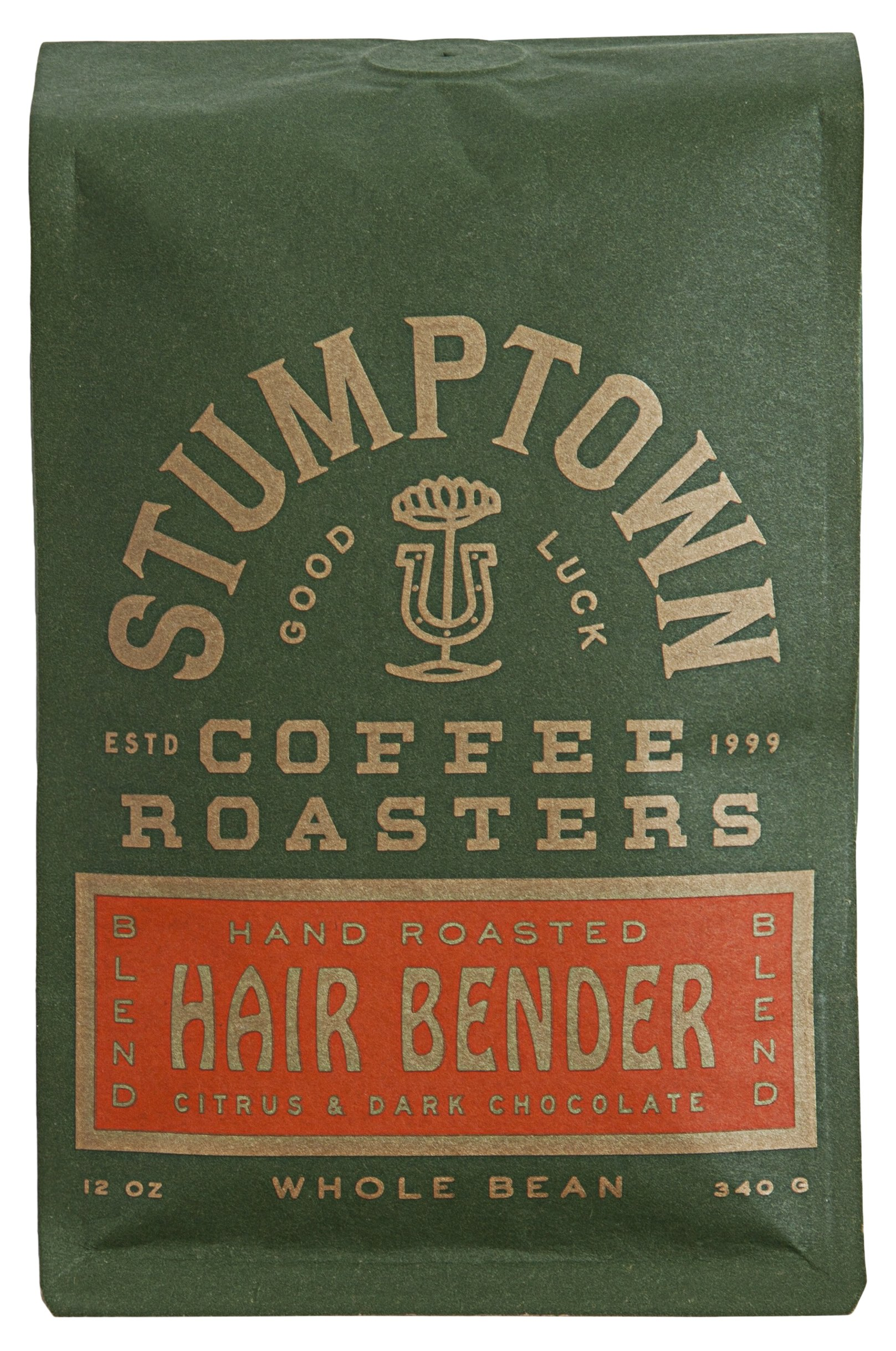 Stumptown Coffee Roasters Whole Bean Coffee, Hairbender, 12 Ounce. Sweet and Balanced Espresso, Indonesian Latin American African Coffee Blend, Perfect for Espresso, Drip or French Press Brewing by Stumptown Coffee