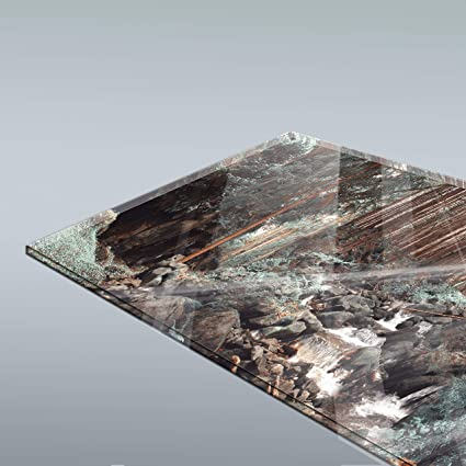 wandmotiv24 K/üchenr/ückwand Steine und Nebelwasser 260 x 60cm B x H Hartschaum 3mm Nischenr/ückwand Spritzschutz Fliesenspiegel-Ersatz M0710