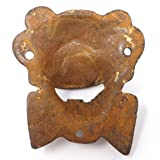 Clown Wall Mounted Bottle Opener, Made Of Cast Iron With A Painted Vintage Antique Finish And Distressed Design
