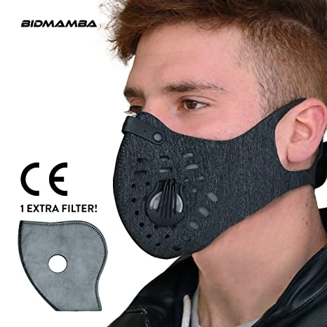 Dust Anti Mask Pollution Face N99 Gen 2nd Bidmamba