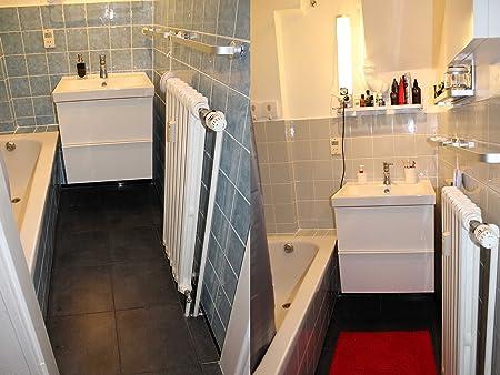 Badezimmer rosa badezimmer verschönern : FoLIESEN Fliesenaufkleber FoLIESEN für Küche u. Bad - 15x15 cm ...