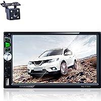 TOYOUSONIC Autoradio 2 DIN Car Stereo 7 pollici HD Touch Screen Bluetooth Vivavoce Car Radio 2 DIN MP5 Radio Supporto…