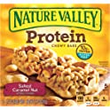 Nature Valley Chewy Protein Gluten Free Salted Caramel Nut