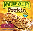 Nature Valley Chewy Granola Bar, Protein, Gluten Free, Salted Caramel Nut, 5 Bars, 1.42 oz