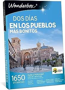 Caja Regalo dos Días en los Pueblos Mas Bonitos Wonderbox: Amazon.es: Deportes y aire libre
