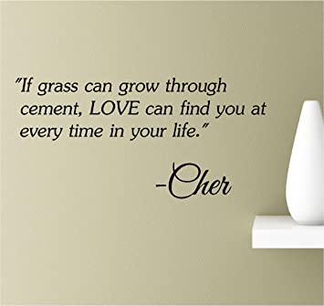 Amazoncom If Grass Can Grow Through Cement Love Can Find You At