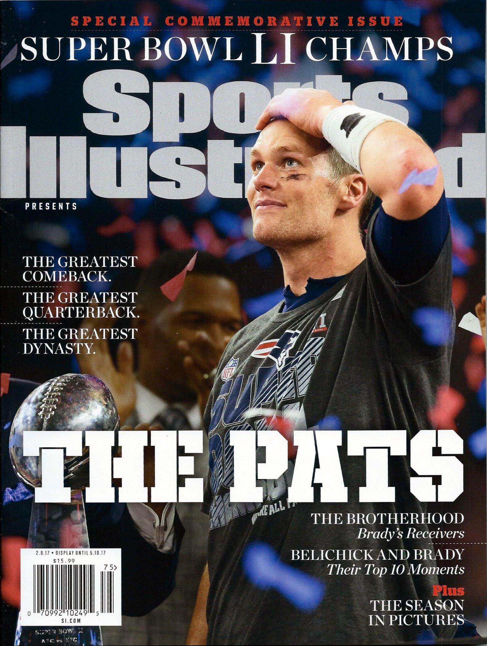 Download Sports Illustrated Commemorative Magazine New England Patriots Super Bowl LI 51 Tom Brady pdf