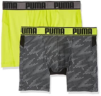 Puma Active Cellar Camo Print Boxer 2P Packed Ropa Interior, Hombre, Active Cellar Camo