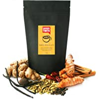Savoury Tooth Turmeric Masala Latte - Delicious Hot or Cold - Blend of Turmeric and Aromatic Spices - Natural and Organic - Great in Lattes Smoothies and Baking - Detoxifies - Boosts your Immune System - Australian Made - 120g