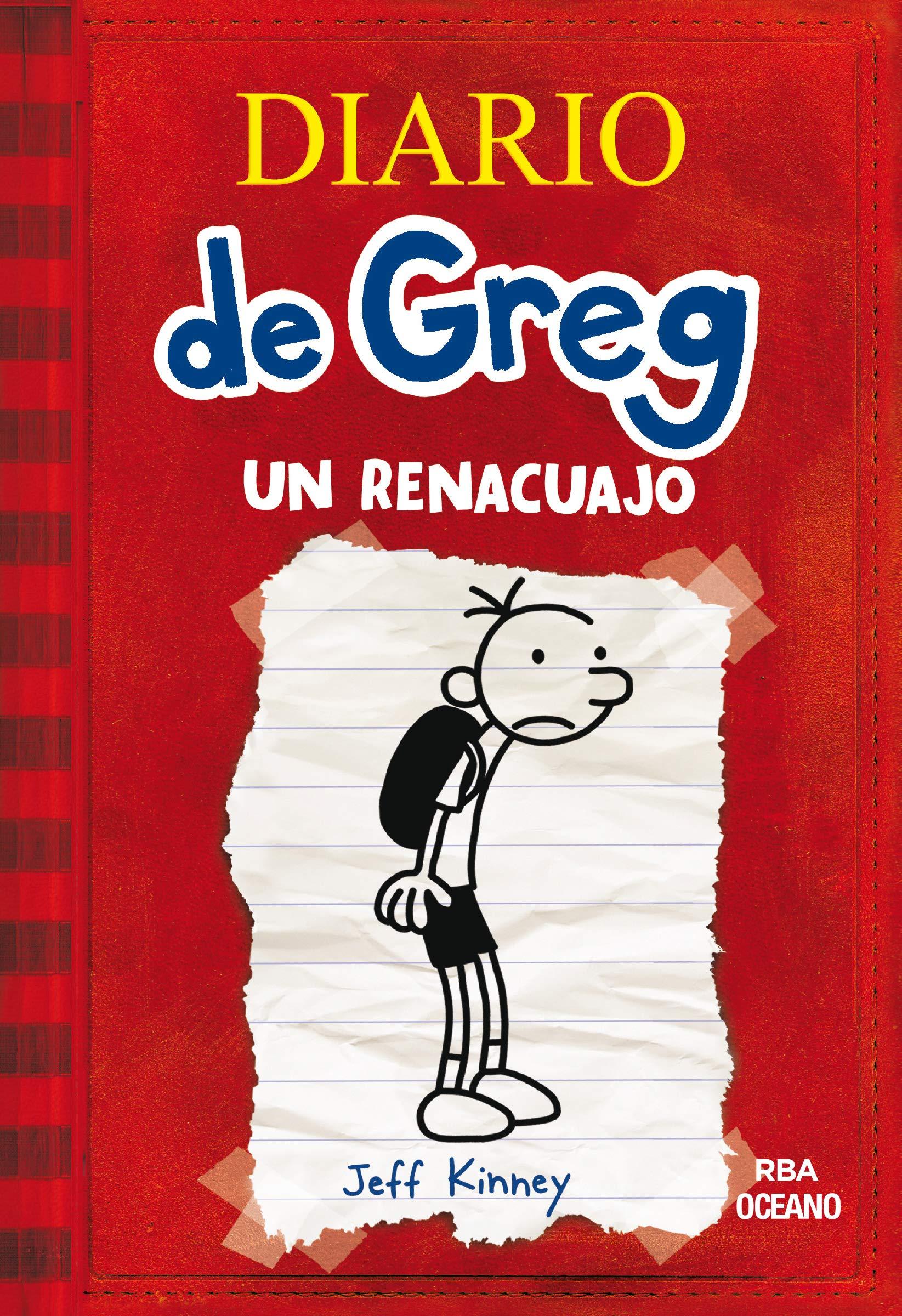 Diario de Greg: Un renacuajo. Vol. 1: Kinney, Jeff, Kinney, Jeff:  Amazon.com.mx: Libros