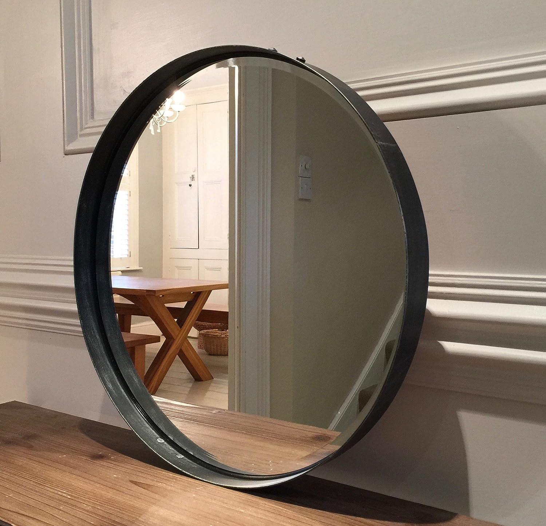 round mirror cm diameter pewter colour finish amazoncouk kitchen home. round mirror cm diameter pewter colour finish amazoncouk