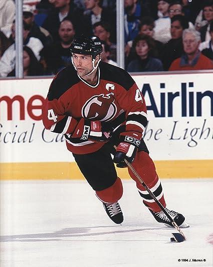 super popular 78b4d 8cb8b Amazon.com : Scott Stevens New Jersey Devils Unsigned Hockey ...