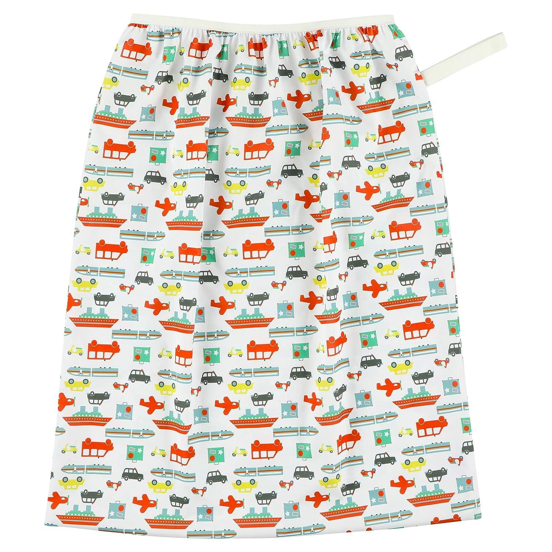 Lilypoppy grande sac à couche de bébé pour poubelle à couches ou panier à linge, sac imperméable de conservation des couches lavables usagées et vêtements sales, Réutilisable et lavable, Sac &ea