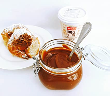 Amazon.com : DULCE de LECHE VERONICA milk CARAMEL spread. ARGENTINA Dessert to die for. 400 gr, 14.5 oz. : Grocery & Gourmet Food