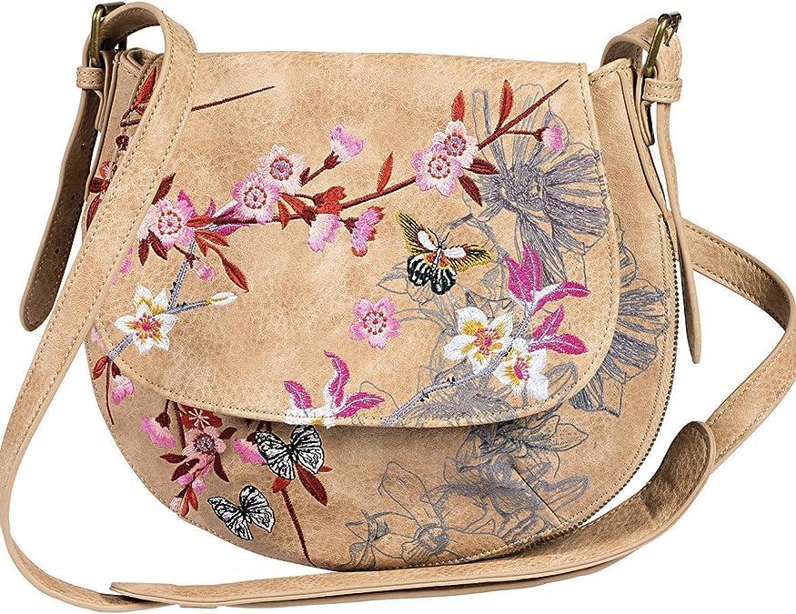 Desigual Handtasche 72X9WD5 6007 Bols Genova Pink Safari