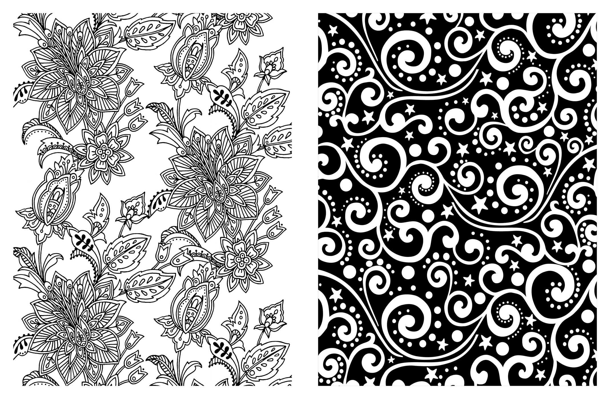 Amazon Posh Adult Coloring Book Soothing Designs For Fun Relaxation Books 0050837348899 Andrews McMeel Publishing