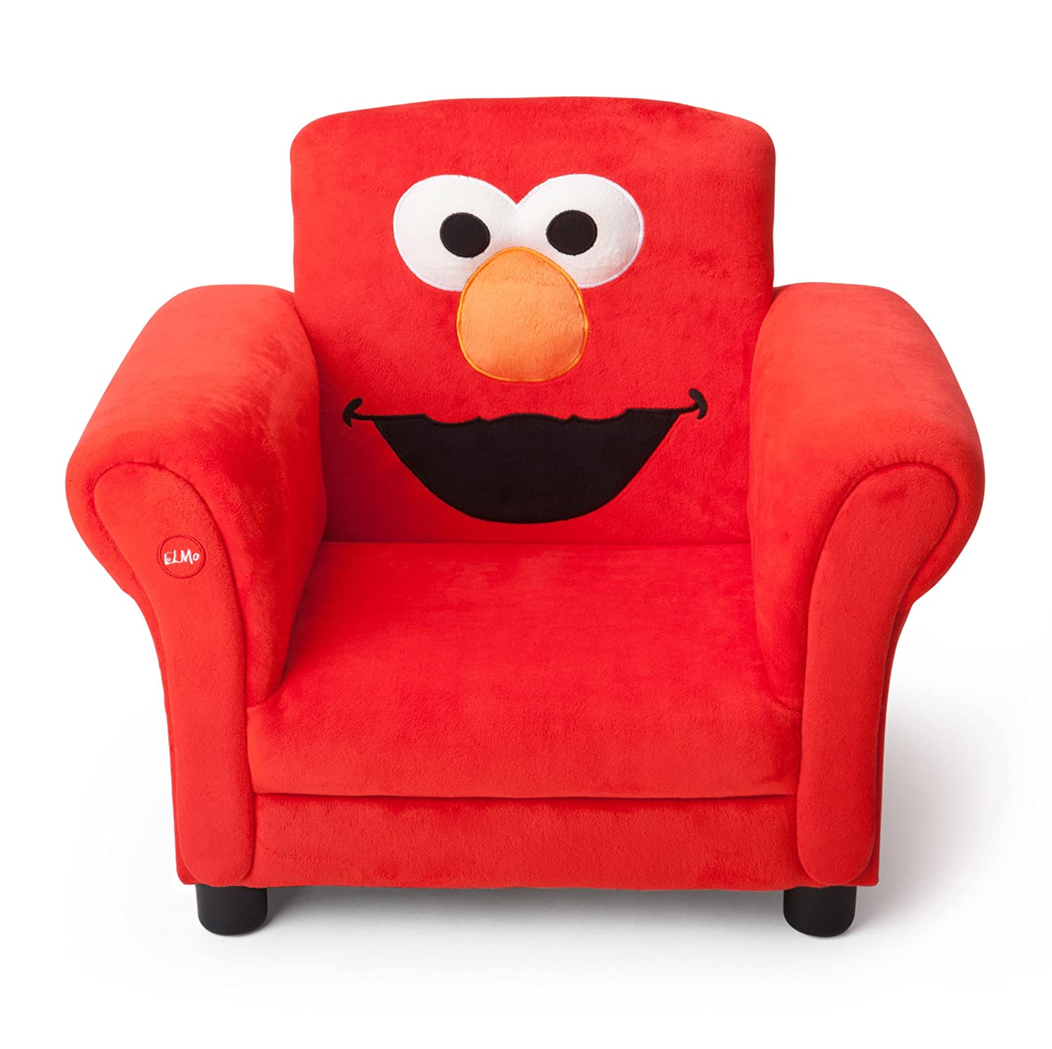 Amazon Delta Children Upholstered Chair W Sound Elmo Sesame