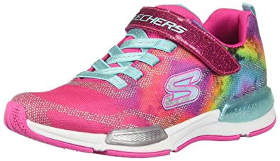0528f4460e51 Skechers Kids Girl s Jumptech 81514L (Little Kid Big Kid) Neon Pink Multi